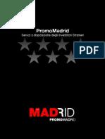 PromoMadrid, Servizi a Disposizione Degli Investitori Stranieri