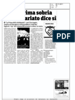 """""""La Prima della Solidarietà"""""""