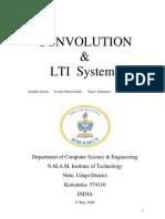 Convolution and LTI Systems