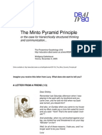 051104 the Minto Pyramid Principle