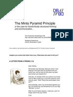 051104 the Minto Pyramid Principle