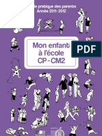 Guide Pratique Des Parents 2011-2012 CP-CM2 189766