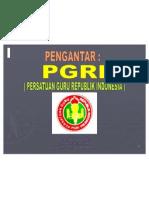 1-Pengantar PGRI