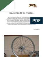 Manual de Desarme de Llantas Suzuki DR 350