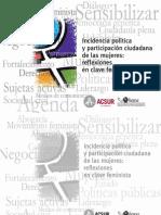 documento No. 4 Incidencia Política y participación ciudadana de las mujeres