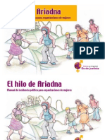 Documento No. 5 El Hilo de Ariana Manual de Incidencia Política para Organizaciones de Mujeres