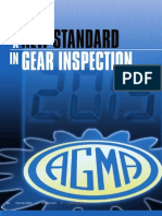 Gear k Chart Inspection 1005