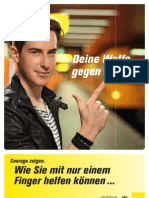 Flyer Sensibilisierung Low