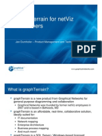 The graphTerrain solution for Netviz Customers