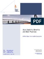 Ajax Usability Benefits and Best Practices 2006