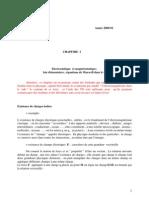 chap1.1 Electrostatique et magnétostatique