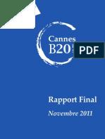 Rapport Final b20 Fr Embargo