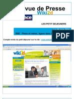 Revue de Presse - Wiki2d