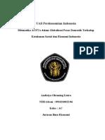Dilematika ACFTA dalam Globalisasi Pasar Domestik Terhadap Ketahanan Sosial dan Ekonomi Indonesia