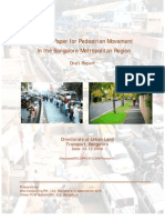Draft Pedestrian Policy for BMR