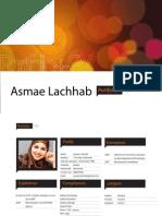 Asmae Lachhab CV + Portfolio