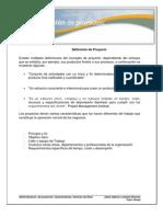 Caracteristicas de la Administración de Proyectos(1)