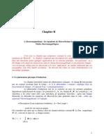 chap2.1 L'électromagnétisme les équations de Maxwell dans le vide