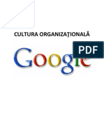Cultura Organizational A La Google