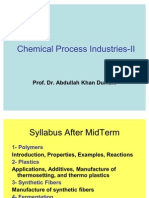 1 Chemical Process Industries-II