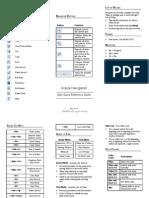 Oracle Application Tool Bar Navigation