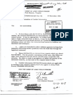 Dissemination of Combat Information 29 November 1952