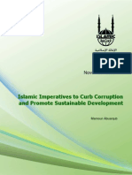 Islamic Imperatives to Curb Corruption and Promote Sustainable Development