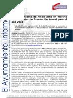 MEDIO AMBIENTE Campaña Vacunación