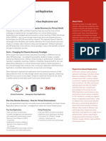 Zerto Virtual Replication Data Sheet