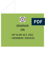 Presentation on Employees Provident Fund and Miscellaneous Provisions Act 1952