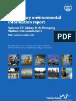 PEIR Main Report Vol27 Abbey Mills Pumping Station