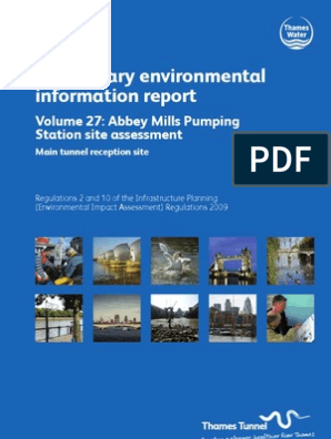 PEIR Main Report Vol27 Abbey Mills Pumping Station | Tunnel ...