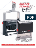Trodat and Ideal Marking Products Catalog