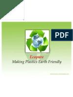 Bi Degradable Plastics (Marketing and Sales)
