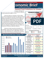 Rep. Evankovich November 2011 Economic Brief