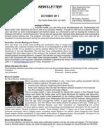 2011 October Ripon Historical Society Newsletter