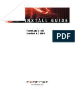 Fortiget 310B Installation Manual