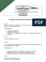 Regimento Interno Da Cootamp..