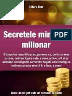 Rezumat Secretele Mintii de Milionar