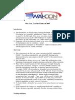 Waicon 2005 Traders Contract