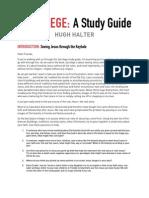 Sacrilege Study Guide