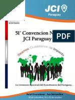 Programa CN 2011 JCI Paraguay