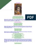 Swami's Talk & Slokas on Lord Shiva