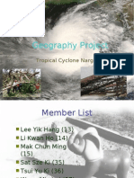 4A Group5 Geography Project Tropical Cyclone to Be Presented