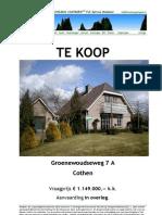 Brochure Groenewoudseweg 7A Cothen
