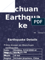4A Group6 Sichuan Earthquake to Be Presented