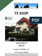 Brochure Cuneraweg 212 Rhenen