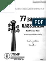 77 Baroque Bass Lines (L.drew) (Bass Method)