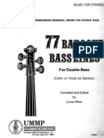 77 Baroque Bass Lines (L.drew) (Bass Method)