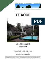 Brochure Utrechtseweg 340 Doorwerth